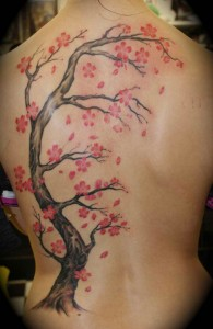 tattoo with a Japanese twist