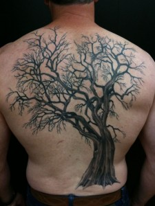 tattoo to fully occupy your back