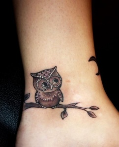 Amazing owl tattoos meaning