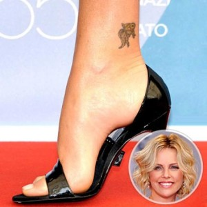 Celebrity Ankle tattoos for women