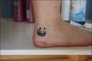 Small ankle tattoos for women