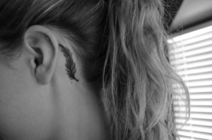 Feather Temple Tattoo