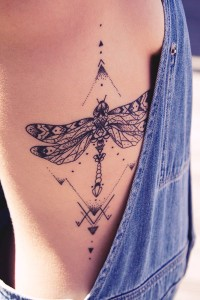 Stunning Insect Body Tattoo