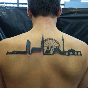 Vacation Place Back Tattoo