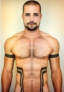 Lines Side Body Tattoo