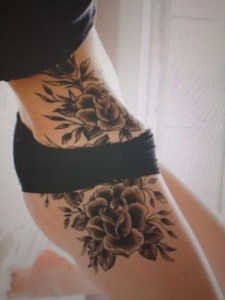 Roses Side Body Tattoo