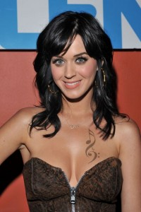 Katy Perry Musical Chest Tattoo