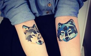 Stunning Wolves Forearm Tattoos