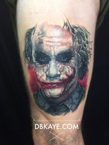 Deadly Serious Arm Tattoo