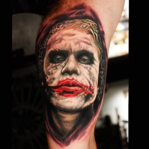 Why So Serious Arm Tattoo