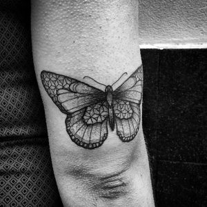 Butterfly Arm Tattoo