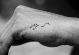Musical Notes HMusical Notes Hand Tattooand Tattoo