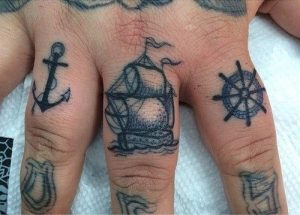 Things for Sea Life Finger Tattoos