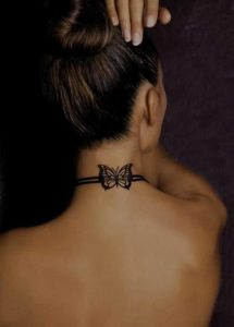 Butterfly Band Tattoo