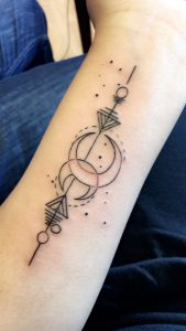 Pisces Forearm Tattoo