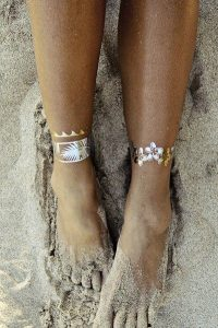 Various Cute Anklet Tattoos