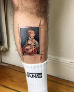 Lady With An Ermine Tattoo