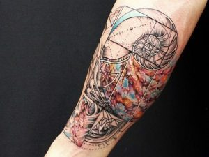 Lovely Abstract Tattoo