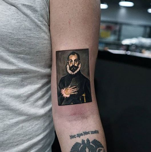 The Nobleman Arm Tattoo